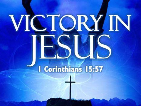 Victory in Jesus1